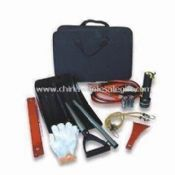 Auto Emergency Tool Kit Includes 3-in-1 Frost Scraper Set and Soft Bag images