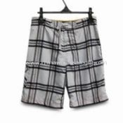 Mens 100% Polyester Shorts with Waist Cord images