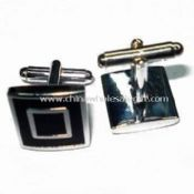 Silver-plated Copper Cuff Link images