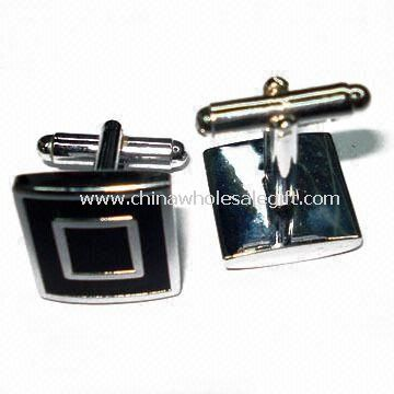 Silver-plated Copper Cuff Link