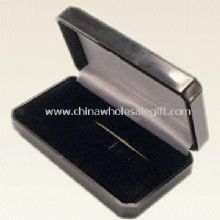 Plastic and Flocked Card Tie Clip Box images