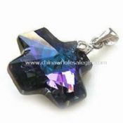 Crystal Pendant in Gold/Rhodium Plating images
