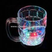 LED Flashing Plastic Beer Cup with On/Off Switch at Bottom images