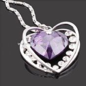 Necklace in Heart-shaped Design images