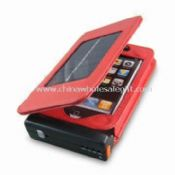 Solar Battery Charger for iPhone 3G with Built-in Li-ion 1,200mAh Battery images