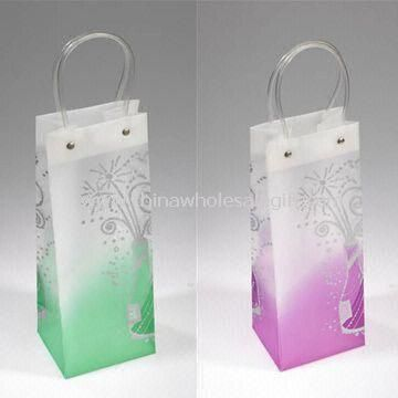 Plastic Wine Bottle Bags