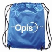 Waterproof 201D polyester Promotional Drawstring Bag images
