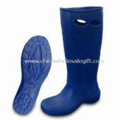 Womens Rain Boots with Slip-resistant and Non-marking Soles images