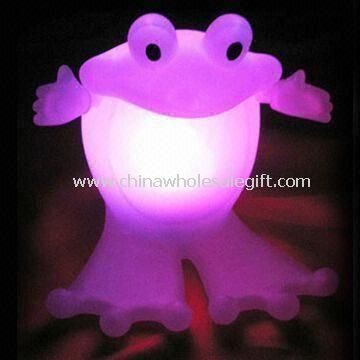 Frog Shaped Light-up Toy