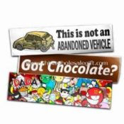 PVC Bumper Car Sticker mit Full Color Impressum images