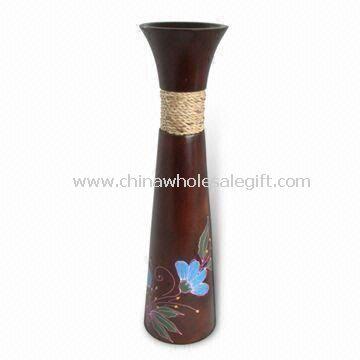 Træ Vase