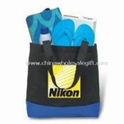Canvas Beach Bag, Ideal for Shopping, Files/Documents, and Beach Towels images