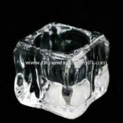 Crystal Glass Candle Holder for Promotional Purposes Used for Stick Candles images