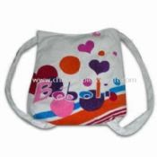 Printed Beach Towel in Bag Shape Made of 100% Cotton images