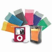 iPod NANO 3G Sock Case with Fashionable Designs, Made of Cotton, Acrylic and Nylon images