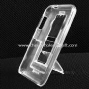 Stand-up Case Made of 100% PC and Crystal, for iPod Touch 2G images