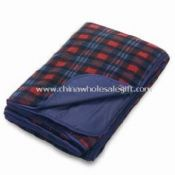 Waterproof Picnic Fleece Blankets with Printed Paper Wrap images