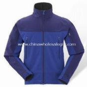 Mens Outdoor Jacket, Ideal for Hiking and Trekking Purposes with Softshell images