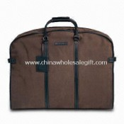 Brown Garment Bag, Made of Eco-friendly and Nonwoven Material images