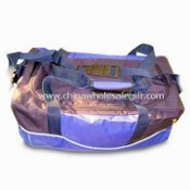 Duffel Bag, Made of 600D Polyester, with Front Pocket and Side Zipper Pocket images