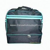Polyester Travel Bag with One Front Pocket with Zipper Closure images