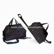 Travel Bag, Available with 600D x 300D Material with PVC Backing images
