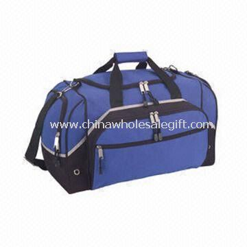 GYM/Duffle Bag with Zippered end Pocketsand Venting Holes