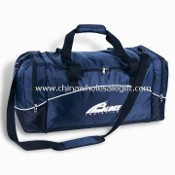 Main Zippered Compartment Gym/Sports Bags, Made of 420D Nylon images