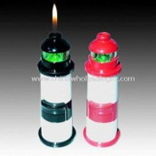 LED Lighter with Lighthouse-shaped Design, Suitable for Gift Purposes images