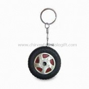 Promotional Windproof Lighters, Wheel Shape, with Keychain images