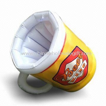 Inflatable Cup, Available in Any Pantone Color, OEM Orders are Welcome