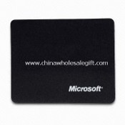 Promotional Mouse Pad with Silkscreen Printing Logo, Made of Neoprene and Cloth images