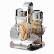 Toothpick Holders, Made of High-quality Stainless Steel images