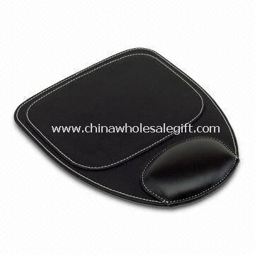 Mouse Pad, Made of Synthetic Leather Material, Sized 27 x 22.5cm