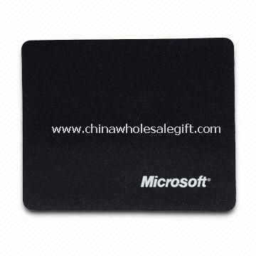 Promotional Mouse Pad with Silkscreen Printing Logo, Made of Neoprene and Cloth