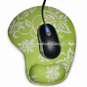 Wrist Rest Mouse Pad with Cloth Cover and Gel