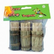 High-quality Toothpick and BBQ Skewer, Made of White Birch images