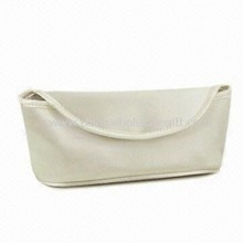 Satin Cosmetic Bag, Made of Foam Satin and EVA, Series Design Set images