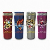 Camping Vacuum Cup with Ed Hardy Style and 450mL Capacity, Made of Stainless Steel images