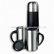Vacuum Flask Set, Made of Stainless Steel, Various Capacities are Available images