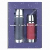 Vacuum Flask Set, Made of Stainless Steel Inner and Outer, Available in Various Capacities images