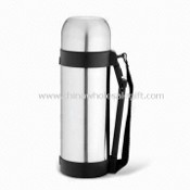 Vacuum Flask with Durable Handle, Can be Used as Bowl Cup for Water images