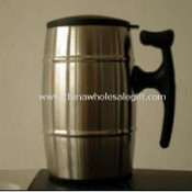 Vacuum Mug Made with Stainless Steel and Glass, Other Designs Available images