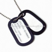 Aluminum Dog Tag, Different Sizes and Logos are Available images