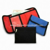 Wallet with 3 Pockets for Cards and One Large Pocket for Money images