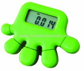 Hand-Shape Pedometer With Stopwatch images