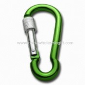 Carabiner Keychain for Climbing, Made of Aluminum, Comes in Different Colors images