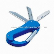 Multifunctional Carabiner, Convenient and Practical, with Knives images