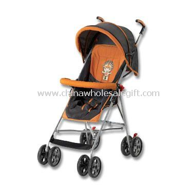 Doll Stroller, Available with European Model Round Canopy and 8 x 6 Inches Wheels