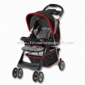 Baby Stroller, Made with All-place Backrest and 8 x 6 Inches Wheels images